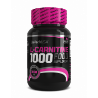 BioTechUsa L-Carnitine 1000 mg tabletta (30db)