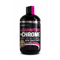 BioTechUsa L-Carnitine + Chrome Narancs