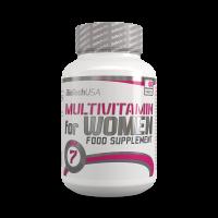 BioTechUsa Multivitamin for Women tabletta