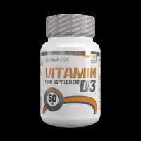 BioTechUsa Vitamin D3 tabletta spec.tápszer