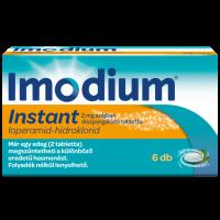 Imodium Instant 2 mg szájban diszpergálódó tabl.