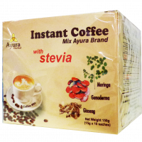 Ayura Herbal Inst. Coffee mix steviaval tejporral (10x)