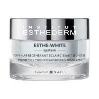 Institute Esthederm Esthe White éjszakai regeneráló krém pigmentfoltos bőrre