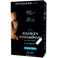 Vital kollagén hyaluronsav kapszula férfi INTERHER (Pingvin Product)