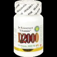 D3-vitamin 2000NE kapszula JÓ KÖZÉRZET