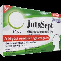 JutaVit Jutasept szopogató tabletta Mentol (Pingvin Product)