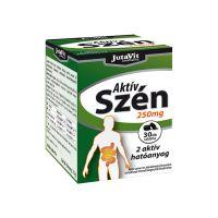 JutaVit Aktív szén 250 mg tabletta (Pingvin Product)