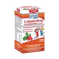 JutaVit C-vitamin 100 mg rágótabletta gyermekeknek acerola kivonattal