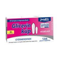 Jutavit Glicerin végbélkúp Gyermek (Pingvin Product)