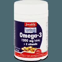 JutaVit Omega-3 1200 mg halolaj + E vitamin kapszula