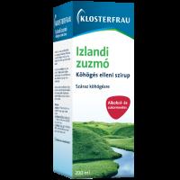 Klosterfrau izlandi zuzmó szirup