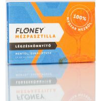 Floney mézpasztilla légzéskönnyítő Menthol Eucalyptus