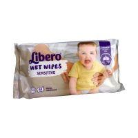 Törlőkendő nedves sensitive Libero
