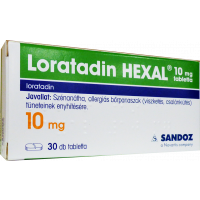 Loratadin HEXAL 10 mg tabletta (Pingvin Product)