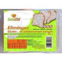 Love Diet köményes glutén-és laktózmentes kenyér (Pingvin Product)