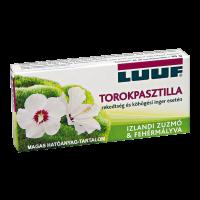 Luuf zuzmó-mályva torokpasztilla