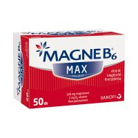 Magne B6 Max étrend-kiegészítő filmtabletta