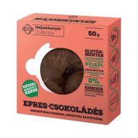Majomkenyér epres-csokoládés paleo keksz