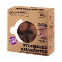 Paleo gyömbéres-amarantos keksz (Majomkenyér)