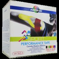 MASTER AID Sport tapasz 5cmx5m kék (Pingvin Product)