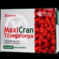 SVUS Maxicran tőzegáfonya kapszula