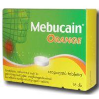 Mebucain Orange szopogató tabletta
