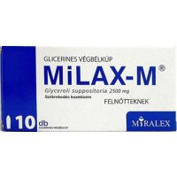Milax-M 2500 mg glicerines kúp Felnőtt (Pingvin Product)