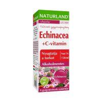 Naturland Echinacea + C-vitamin étrend-kiegészítő