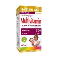 Naturland Multivitamin + Omega 3 + Ginkgo Biloba komplex senior 50+ kapszula