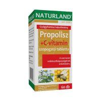 Naturland Propolisz + C-vitamin szopogató tabletta