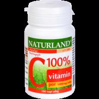 Naturland C-vitamin 100% por