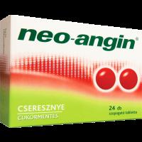 Neo-Angin szopogató tabletta cseresznye ízű