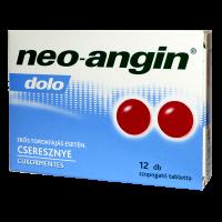 Neo-Angin Dolo szopogató tabletta (Pingvin Product)