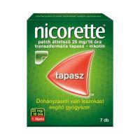 Nicorette patch áttetsző 25 mg 16 óra transz.tap.