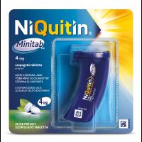 NiQuitin Minitab 4 mg préselt szopogató tabletta