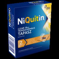 NiQuitin Clear 14 mg transzdermális tapasz