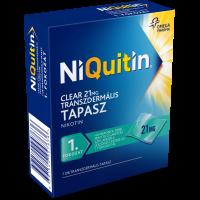 NiQuitin Clear 21 mg transzdermális tapasz