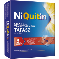 NiQuitin Clear  7 mg transzdermális tapasz