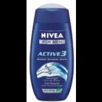 Nivea tusfürdő Active férfi                (80939)