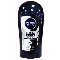 Nivea deo stift férfi Invisible Black/White