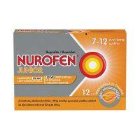 Nurofen Junior narancsízű 100 mg lágy rágókapszula