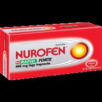 Nurofen Rapid Forte 400 mg lágy kapszula (Pingvin Product)
