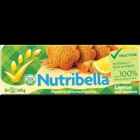 Nutribella citromos kurkumás keksz