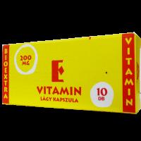 Vitamin E Bioextra 200 mg lágy kapszula (Pingvin Product)