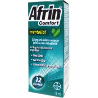 Afrin Comfort mentollal 0,5 mg/ml oldatos orrspray 15ml