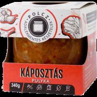 Polcz Káposztás pulyka adalékmentes - 350g