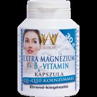 Prémium Extra Mg+B6+Q1+Q10 kapszula