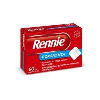 Rennie Borsmenta rágótabletta (60db)