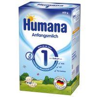 Humana 1 Tejalapú anyatej-hely. tápszer újszülött (Pingvin Product)