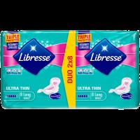 Egészségügyi betét Libresse Ultra Super szárnyas (Pingvin Product)
